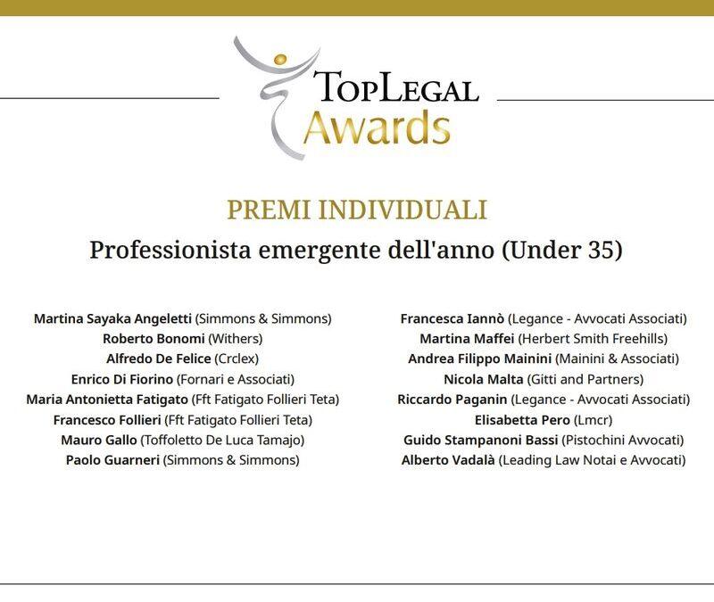 Top Legal Awards  2020